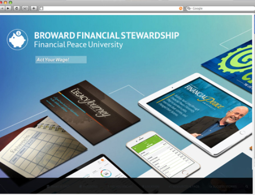 WEBSITE PROJECT: Broward Financial Stewardship