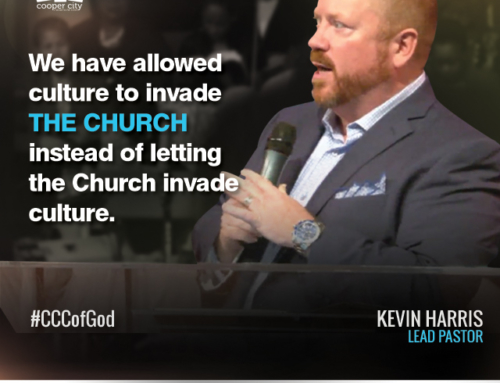Social Graphic: Pastor Kevin Harris