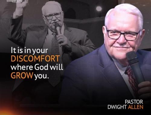 SOCIAL GRAPHIC: Pastor Dwight Allen